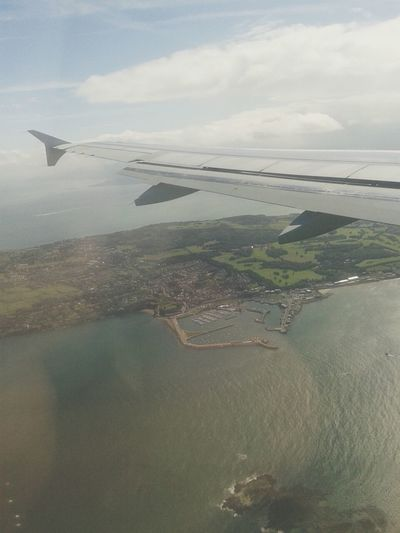 Planeview Aer Lingus Ireland Landscape
