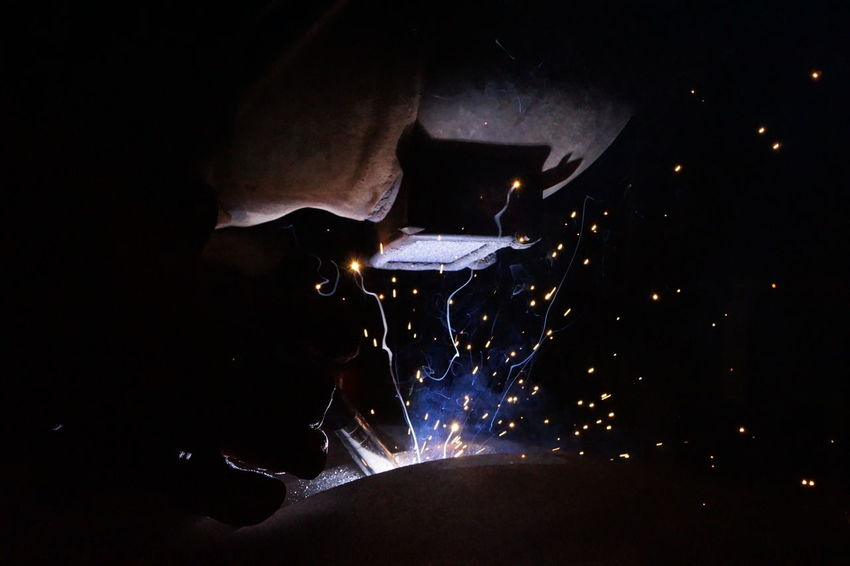 Weldersatwork Technology Photography Welding Work Sparkles ✨ Technology Art Weldinglight Welding Fire Close Up Technology Taking Photos Technology Welder Work In Progress Steel Construction Steelconstruction Piping Work Close-up Special Original Photography Original Unedited.  The Photojournalist - 2017 EyeEm Awards The Week On EyeEm Be. Ready.