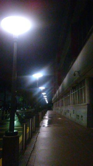 walking at night After Rain Love Walking Arquitecture School At Night Illuminated Lighting Equipment Street Light Architecture Pathway