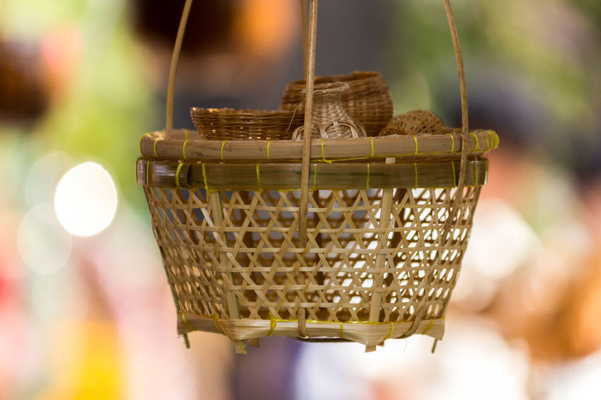 Basket Close-up Day Focus On Foreground Food And Drink Freshness Handicraft Handicraft Work No People Outdoors Weaving