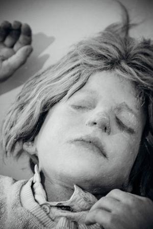 Art ArtWork Headshot Human Representation Kunsten Kurt Trampedach Long Hair Manequin