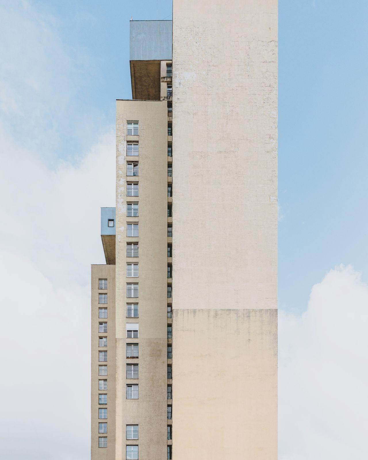 architecture, sky, built structure, building exterior, skyscraper