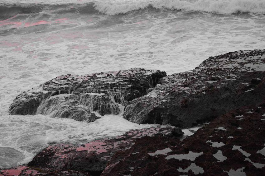 Nikon Nikon D5200 Maroc Casablanca Mohammedia Blackandwhite Sea Rocks sun Reflection
