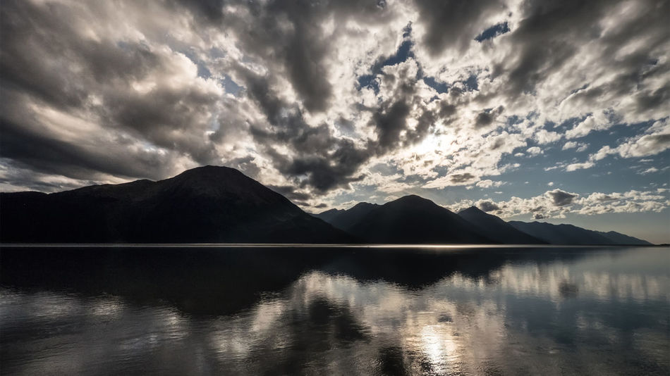 Stunning view...Nature Reflection Mountains Alaska Cloud Clouds And Sky Capture The Moment Sunset EyeEm Best Shots Nature_collection Eye4photography  Landscape Nature Photography Naturelovers Traveling Relax Taking Photos Sky Skyporn Cloudporn Clouds Lake The Great Outdoors - 2016 EyeEm Awards