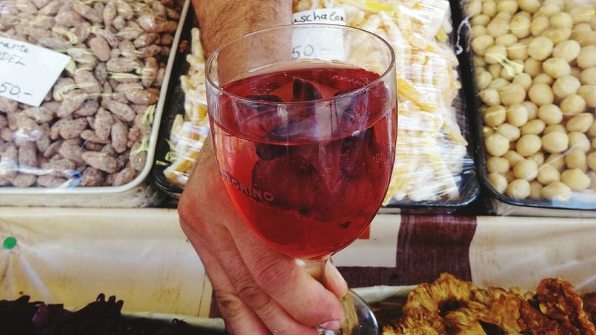 Naschmarkt Wien Vienna Drink Hagebutten Food And Drink Choice ShareTheMeal Drinking Glass Freshness Food Healthy Eating Human Hand Health Basar Market Shopping Time Food And Drink Grocery Shopping Wine Moments