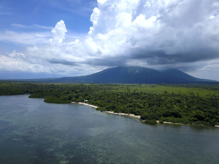 Baluran Holiday Nature Vacations View Balurannationalpark Beach Beauty In Nature Cloud - Sky Environment Forest Indonesia Photography  Landscape Mountain Mountains Nature Ocean Outdoors Plant Scenics - Nature Tourism Travel Destinations Tree View From Above Water