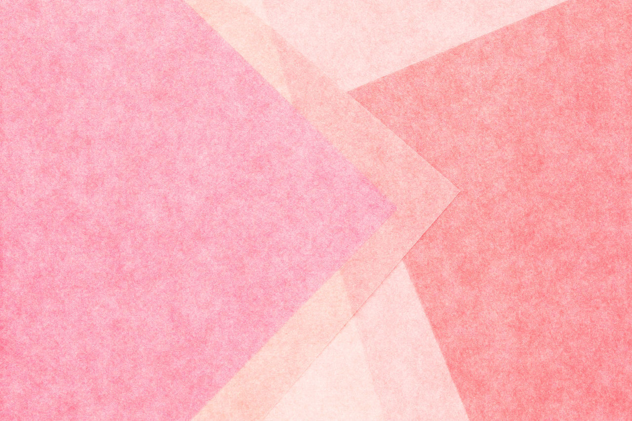 pink color, backgrounds, paper, full frame, no people, pattern, multi colored, art and craft, textured, copy space, close-up, indoors, creativity, abstract, high angle view, pink background, design, shape, material, softness, abstract backgrounds, blank