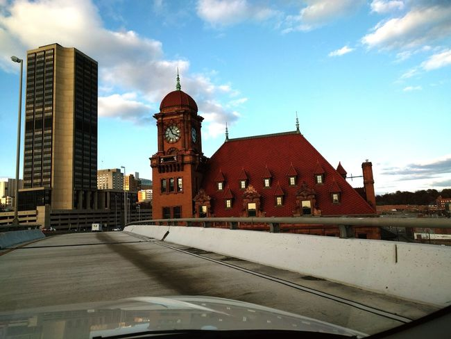 Architecture Tower Clock Urban Skyline Building Exterior Travel Destinations Cityscape Cloud - Sky History No People Drivebyphotography Richmond, VA