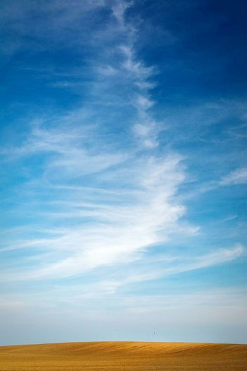 Cloud - Sky Sky No People Landscape Blue Outdoors Simplicity Simple Photography No Rules No Rules Photography