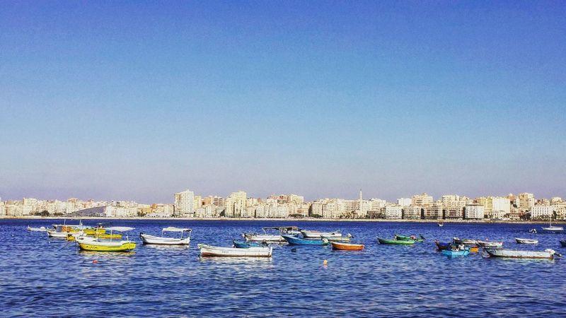 Nature Sea And Sky Boats Allblue Sky Sea Egypt