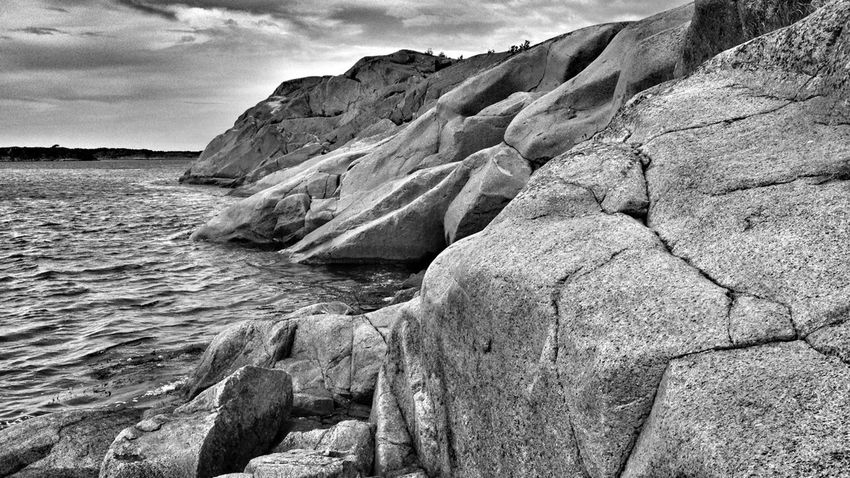 A lot of climbing today. Archipelago EyeEm Nature Lover Water_collection Bw-collection