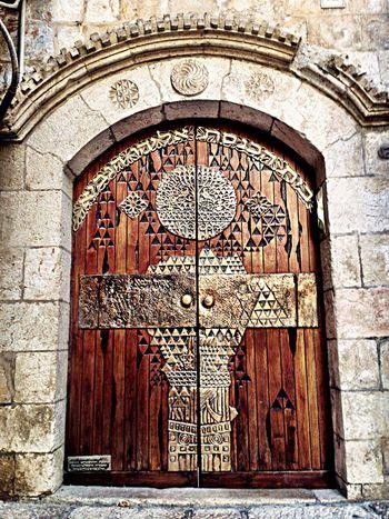 Jerusalem Door Israel Jewish