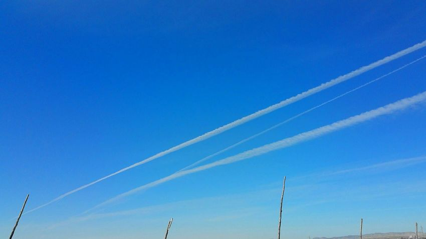 Ontheroad Vapor Trails Airplane Vapor Trail