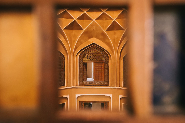 secret door Dowlatabad_Garden Unesco Welkulturerbe Arch Architectural Column Architecture Door Focus On Background Golden Color History Iran Irantravel Ornate Persia Selective Focus Unesco World Heritage Window