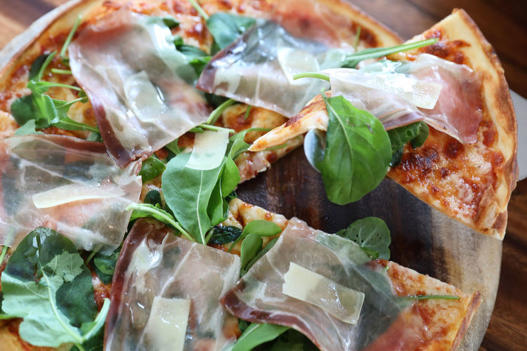 Arugula Close-up Day Food Food And Drink Freshness Healthy Eating Herb Indoors  Indulgence Leaf Meal Meat No People Pizza Plastic Bag Ready-to-eat Serving Size Still Life Vegetable Vegetarian Food Wellbeing