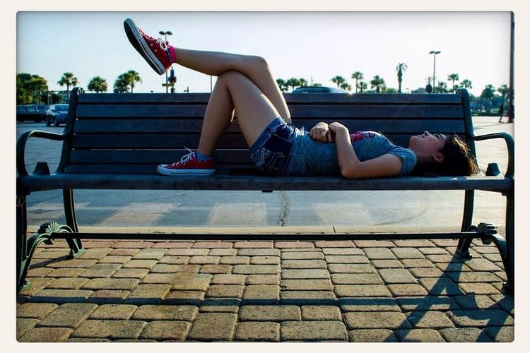 What Does Peace Look Like To You? Peace looks, and is finally being complete and happy with your life. Bench Florida Fort Walton Beach