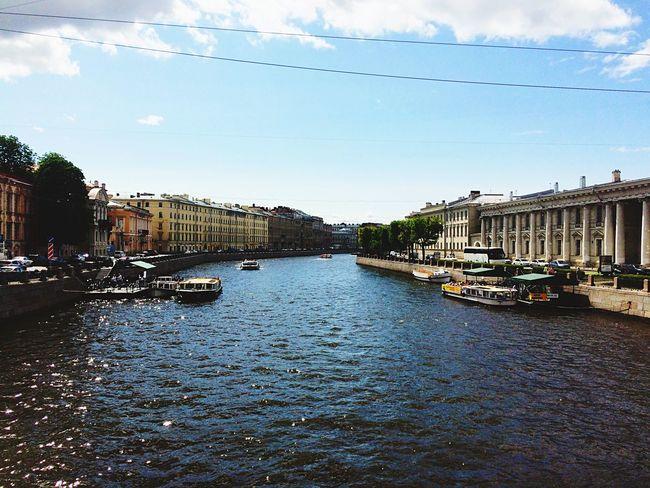 Favorite Place Аничков мост Фонтанка