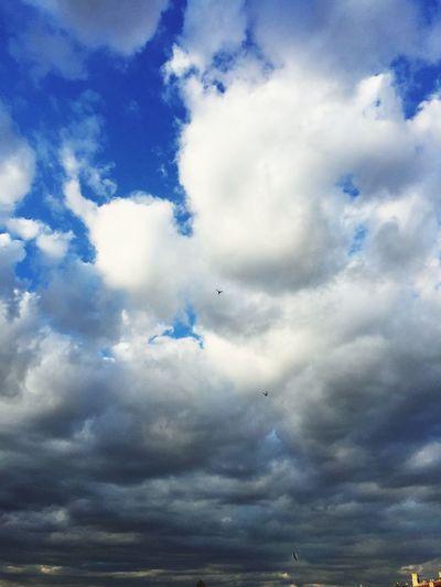 Bulutlar Mavibeyaz Kuslar