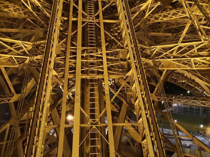 Amazing architecture Eiffel Tower City Illuminated Girder Bridge - Man Made Structure Architecture Built Structure Sky The Architect - 2018 EyeEm Awards