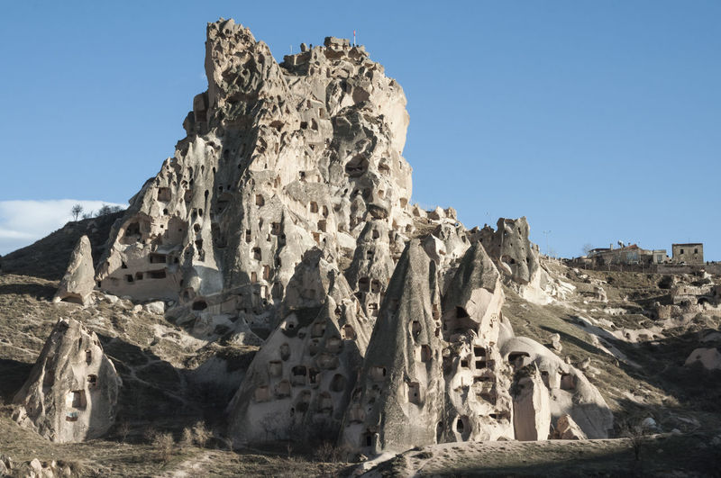 Amazing View Cappadocia Landscape Nature Outdoors Rock Formation Travel Destinations Travelphotography Uçhisar