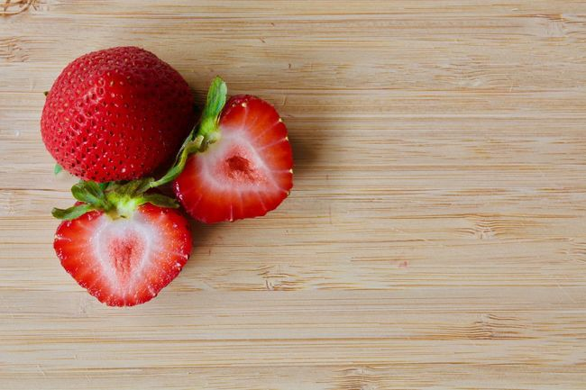No People Food Fruit Healthy Eating Healthy Lifestyle Indoors  Day Food Photography Beauty In Nature Healthy Food Organic Food Nature Ready-to-eat Foodphotography Red Strawberries Pieces Of Fruit Wood - Material Wood Background