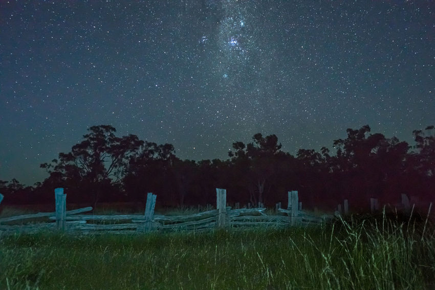 Kemp Ck yards under the Milky Way Australia Cattle Stat Cattle Yard Might Sk Milky Way Night Old Times Ranch Life Tranquil Scene First Eyeem Photo