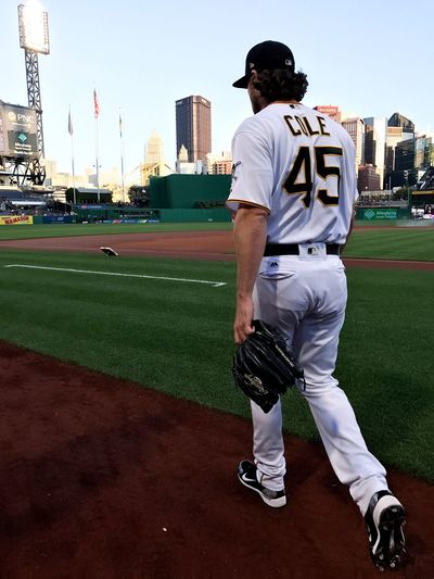 Gerrit Cole, 45 Field Sport Photographer Sports Sport Mlb Baseball Real People Full Length Standing One Person Baseball Player Leisure Activity Young Adult Baseball - Sport Sports Clothing Lifestyles Grass Built Structure Architecture Clothing Incidental People Outdoors Day Playing Field Men