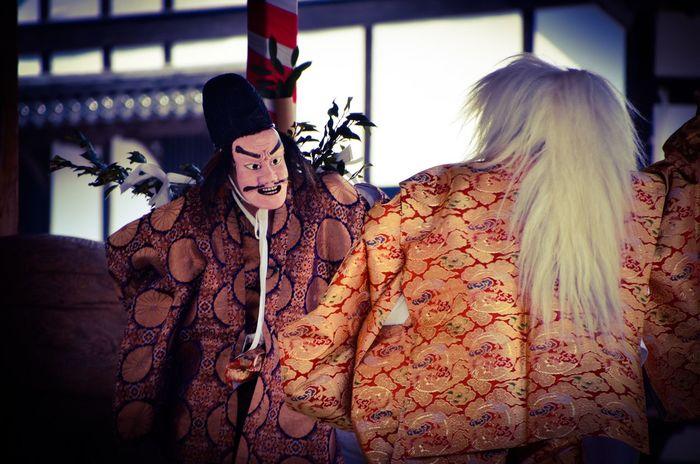 Kagura Dance Beauty Beautiful People Portrait Adult Indoors  Culture Japan