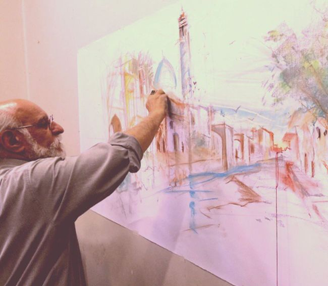 The Great Masters Of Art Architecture Education Urban Design behtarin ostad donya... Dr.Amir hooshang Ardalan