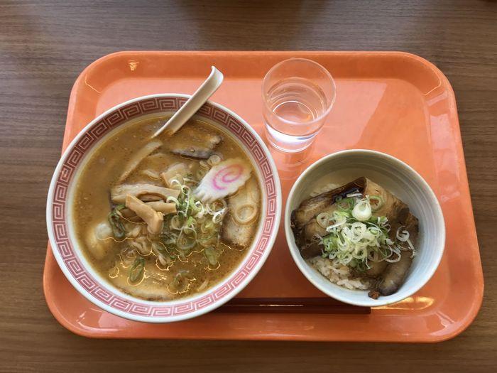味噌ラーメン+チャーシュー丼