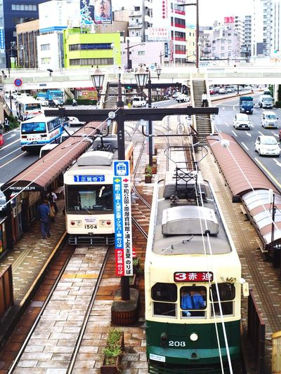 what's a cute Monorail Monorail Train View Transportation Public Transportation City Summer 日本2017年 Life In Motion Nagasaki JAPAN 駅 - Station -