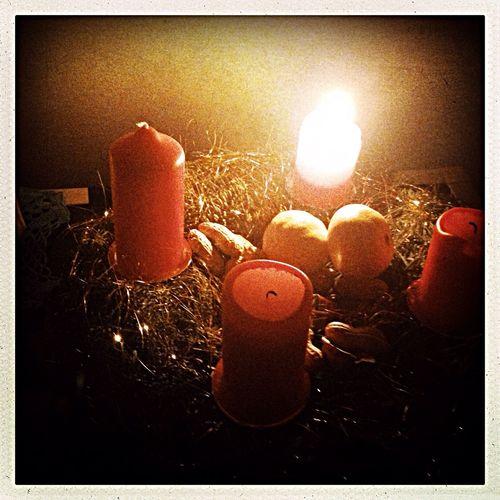 Adventskrantz EyeEm By Candlelight