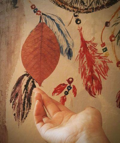 The Magic Mission My Hand  ArtWork Autumn Leaves Leaf 🍂 Autumn Colors Nature