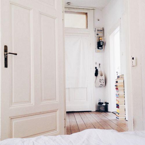 Home interior in white color