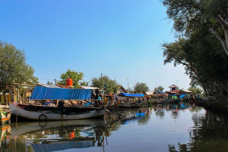 Riverside Traditional Transportation Boats Landscape Mangrove Riverviews Scenics Seascape Seaside