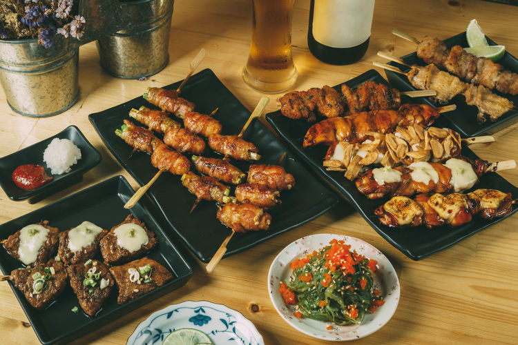 Barbecue Chicken Wing Close-up Day Food Food And Drink Freshness High Angle View Indoors  Meal Meat No People Plate Ready-to-eat Table