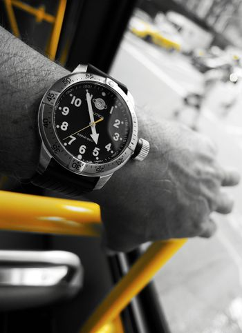 And a lot earlier...... Time Watch Watch Face Day Close-up Indoors  Black And White Human Arm And Hand In Camera Color Extraction Photography