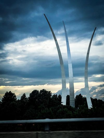 Air Force memorial Sky Cloud - Sky Plant Tree Nature No People The Traveler - 2018 EyeEm Awards Landscape Architecture Motion