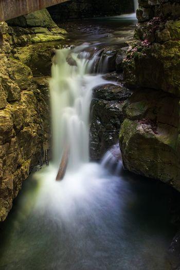 Devil's passage canyon in Croatia Long Exposure Waterfall Canyon Stream Creek Water Rock Formation Croatia