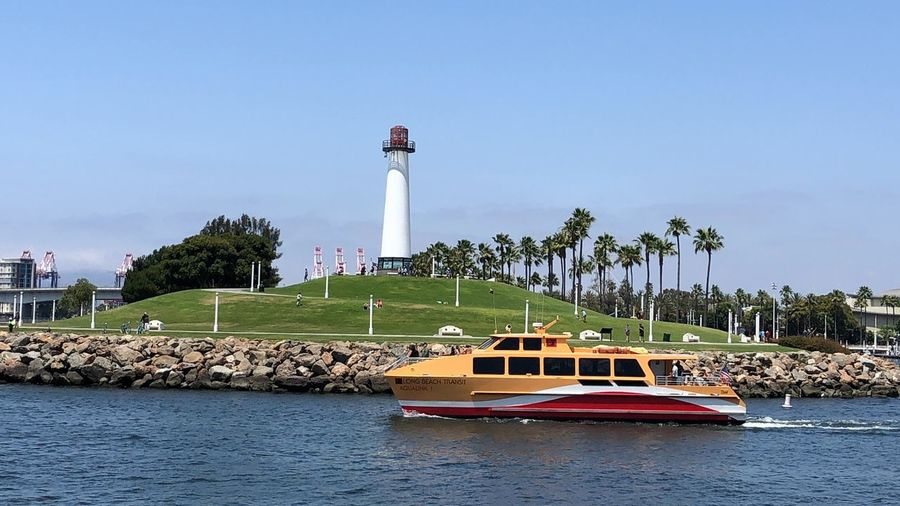 Relaxing Lighthouse Water Architecture Built Structure Sky Mode Of Transportation Nature Nautical Vessel