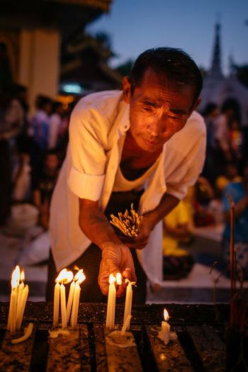 Shwedagon Festival - Yangon, Myanmar