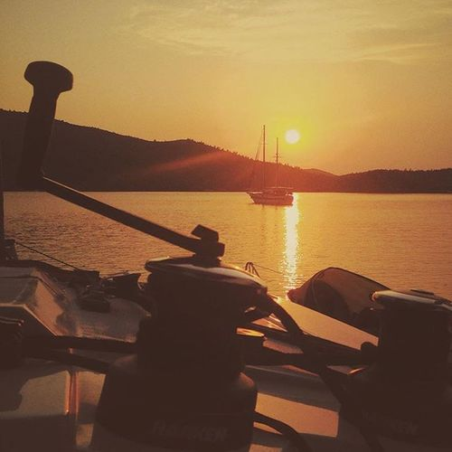 Fountainepajot Helia44 Vscocam Bodrum Catamaran Gökova Sunset Harken