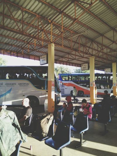 Real People Indoors  People Architecture DayBus Terminal Us Terminal Bus Station