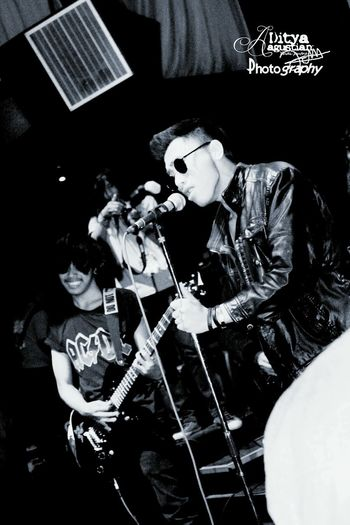 TakeoverMusic Rock Music Arts Culture And Entertainment PerformanceINDONESIA Singer  Music Musician Playing Enjoying Electric Guitar Rock And Roll Baby Jakarta Rock And Roll