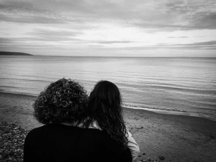 Looking out to sea First Eyeem Photo Saundersfoot Moody Beach