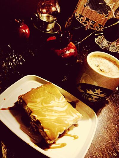 Homemadecheesecake Coffee Starbucks GirlsNight دستپخت