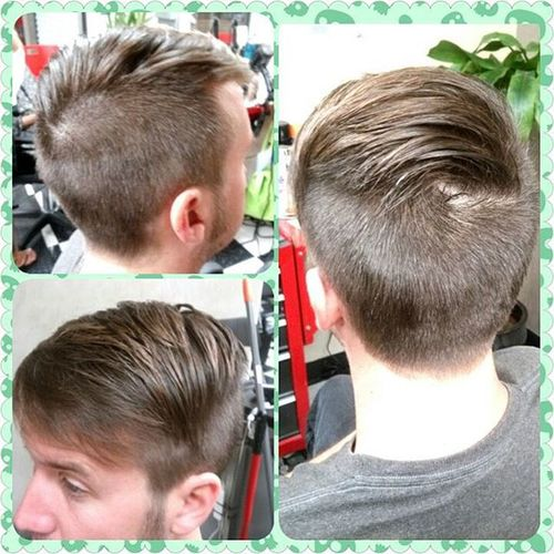 Undercut Combover Beautybytammy Huntingtonbeach mainstreethaircompany
