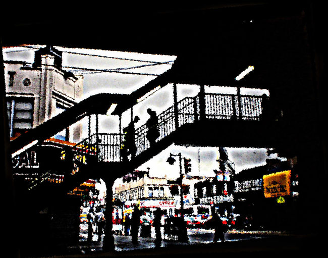 Architecture Built Structure City City Life Day Fordham Road Lifestyles Number 4 Subway Station Outdoors