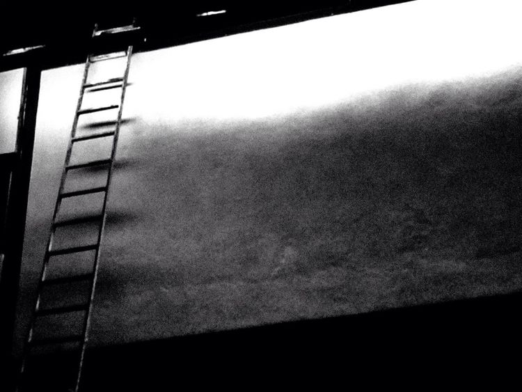 Escalera al cielo / stairway to heaven Blackandwhite Streetphotography IPhoneography Urban@ndante