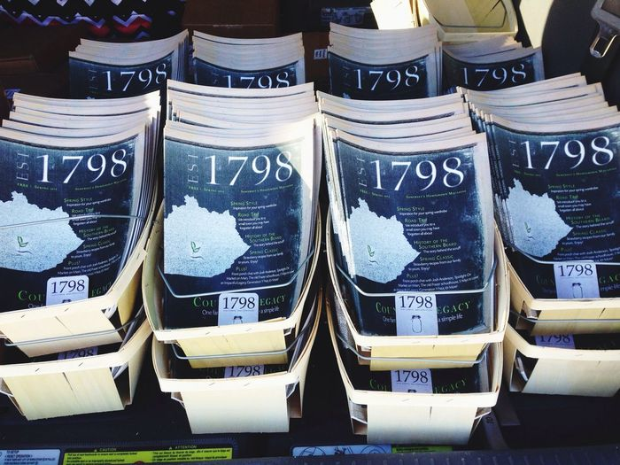 Day 2 of Distribution of Somerset Ky Homegrown 1798 Magazine! Magazine Magazines Somerset KY